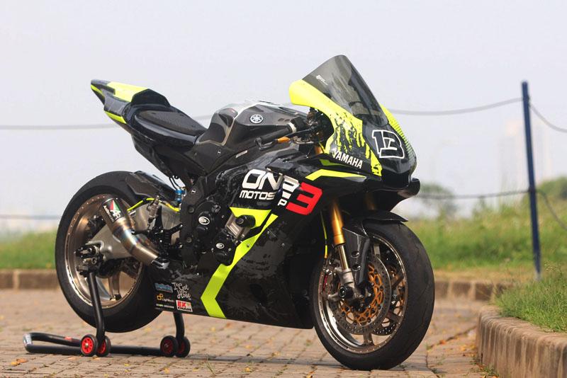 Modifikasi Yamaha R1M WSBK 'Lucky Number 13'