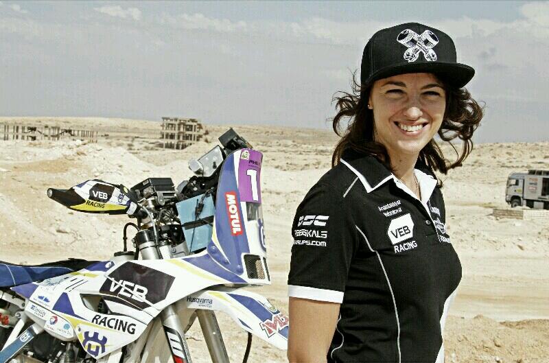 Pereli Wanita Rusia Batal Ikut Reli Dakar 2017 Karena Doping