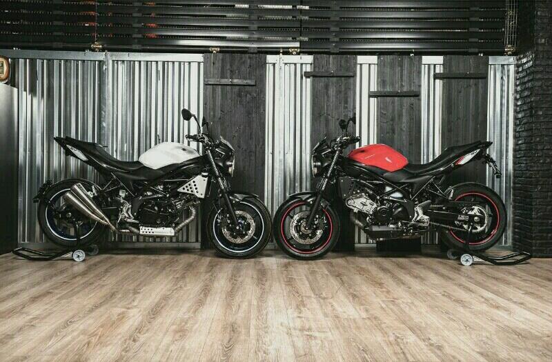 Suzuki akan Menampilkan SV650 Banger di Verona Motor Bike Expo