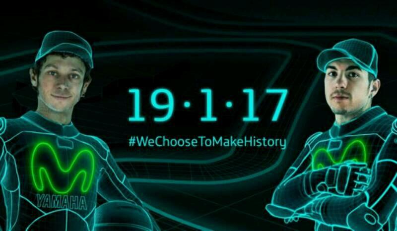 Livery Baru Movistar Yamaha MotoGP 2017 Akan Ditampilkan 19 Januari