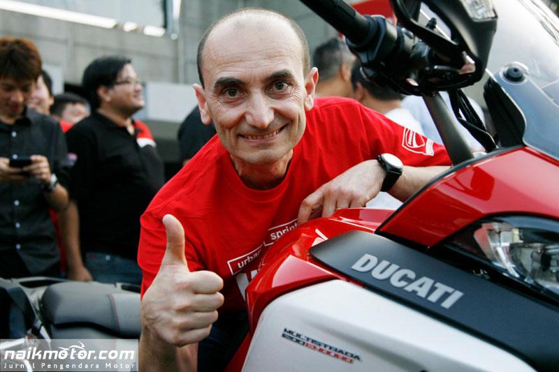 Bos Ducati Masih Sangsi Bicara Juara Dunia MotoGP