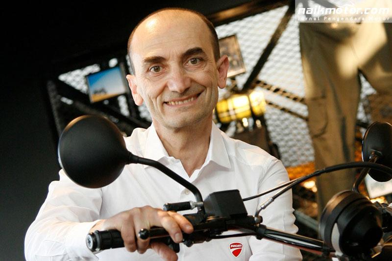 mesin V4 Ducati MotoGP untuk versi jalanan