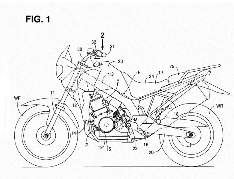 Honda Sedang Membangkitkan Kembali Adventurer Dominator