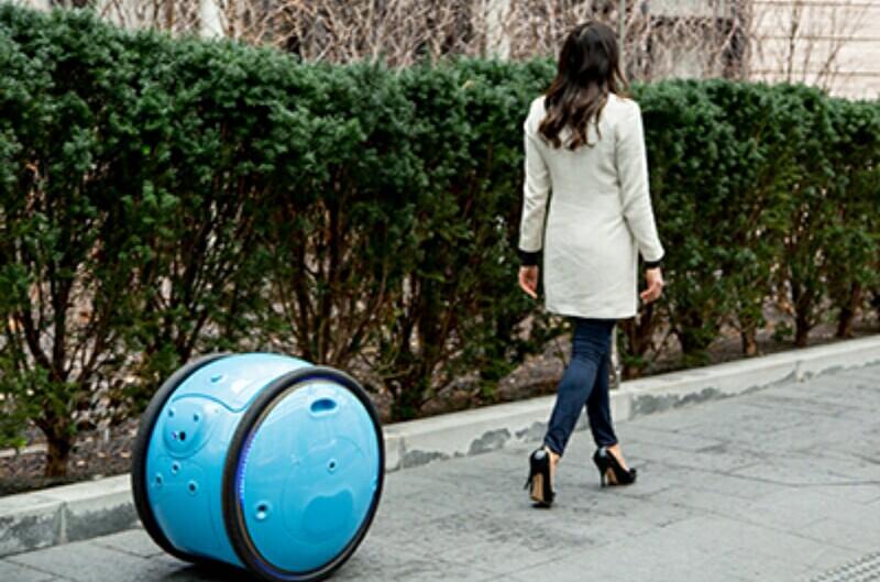 Gita Robot Trolley Autonomous Produk Piaggio