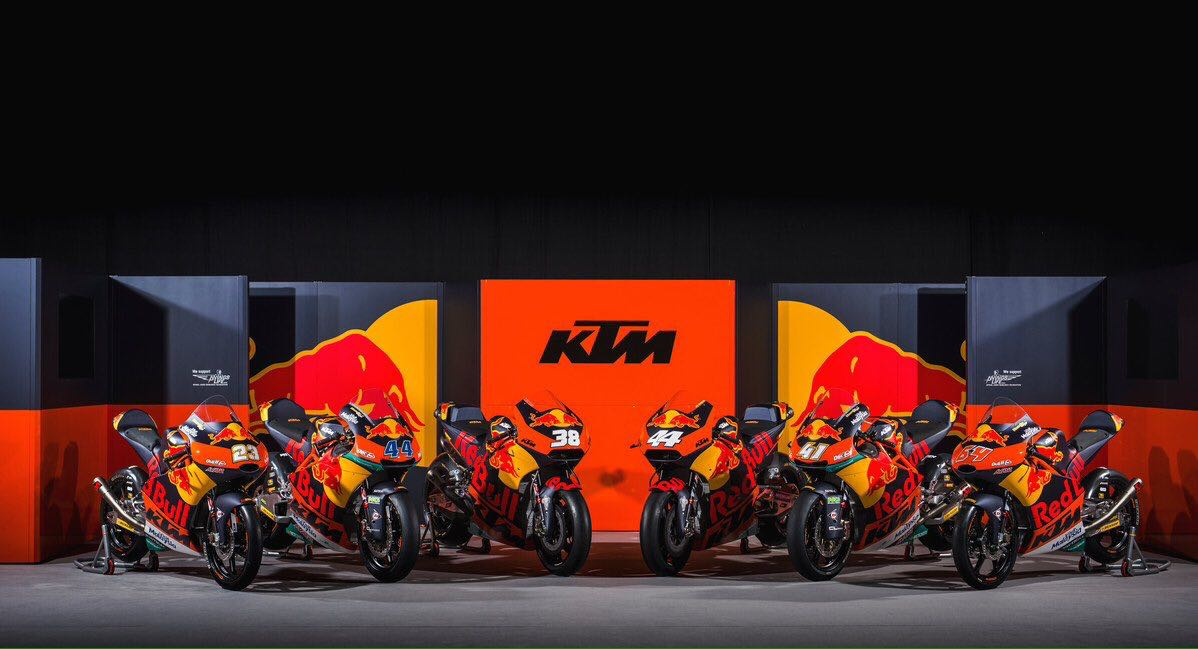 Livery Baru Factory Team KTM MotoGP, Moto2 dan Moto3 2017