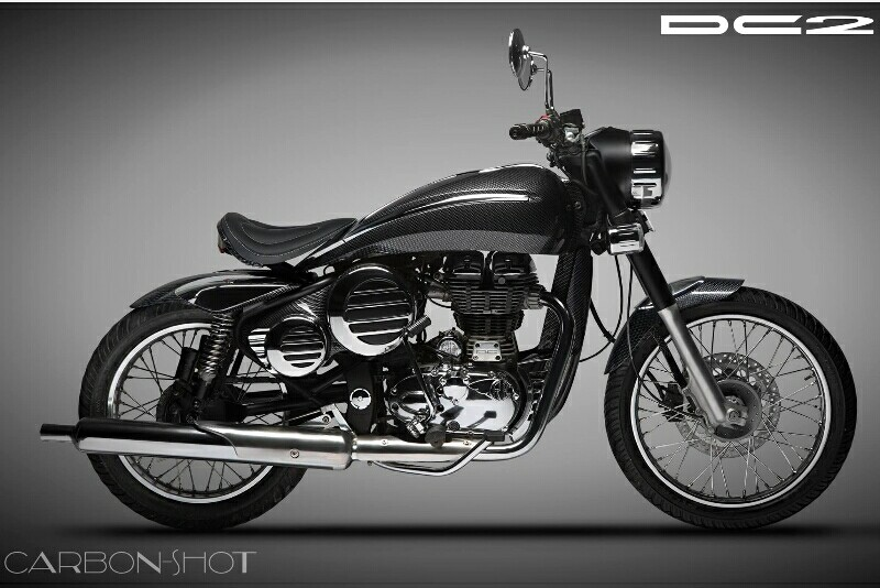 Warna Baru DC2 Kit Custom Royal Enfield Bullet Dirilis
