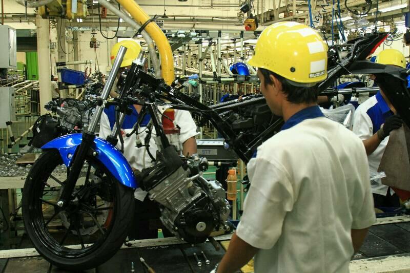Di Tambun Suzuki GSX-R150 Dirakit 37 Unit Per Jam