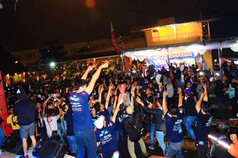 Hari Ulang Tahun Ketiga CBR Riders Club Bekasi