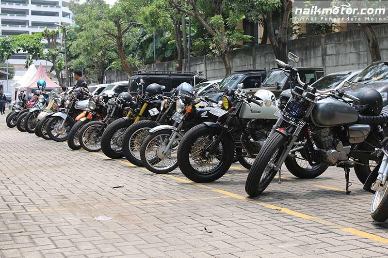 Nuansa Custom Culture di Jakarta Motogarage 2017