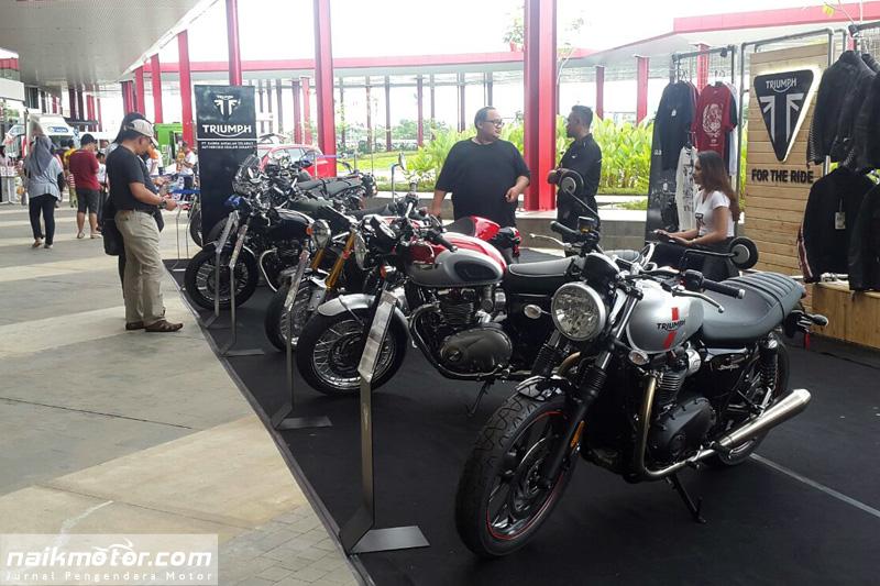 Ini Harga New Triumph Bonneville Bobber di 1st Indonesia Autovaganza