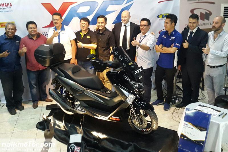Yamaha NMax YRFI Limited Edition 2017 Hanya 1.500 Unit dan Bersertifikat