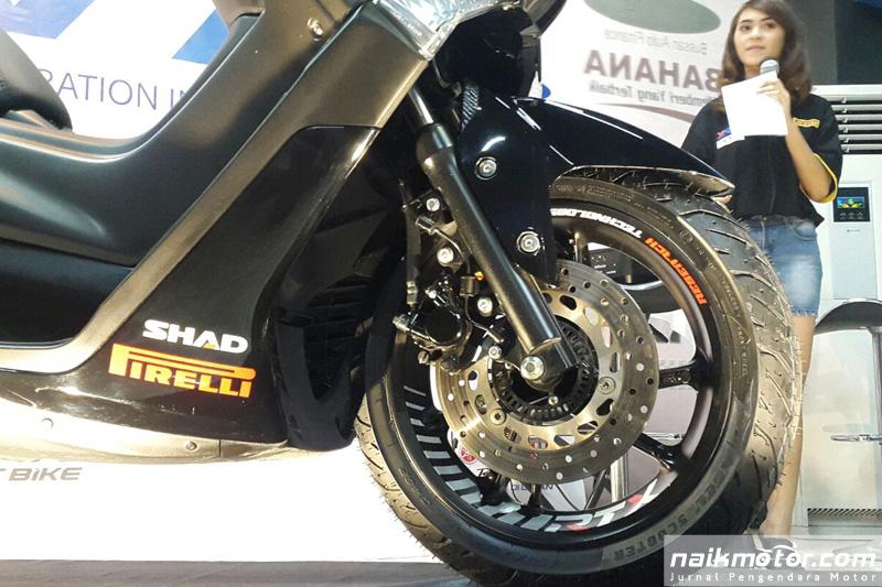 Pirelli Pasok Ban Yamaha NMax YRFI Limited Edition 2017