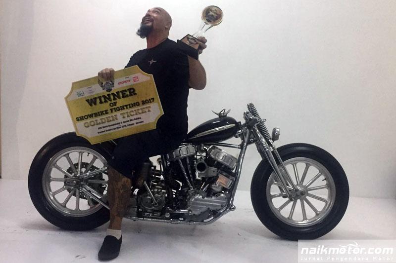 motor custom dari bali bikinan mampang