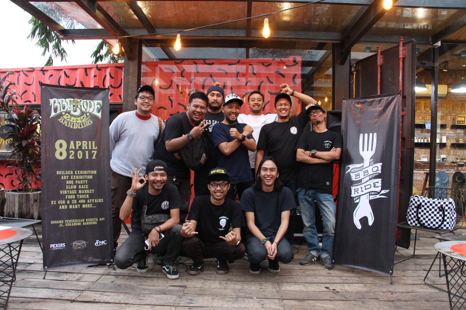 Bos Mooneyes dari Jepang hadir di BBQ Ride 2017 Bandung