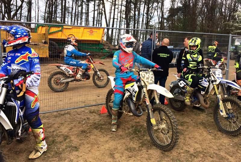 Crosser muda Adel di ONK Motocross Markelo Belanda