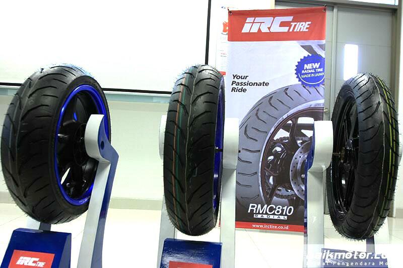 keunggulan ban sportbike radial IRC RMC 810