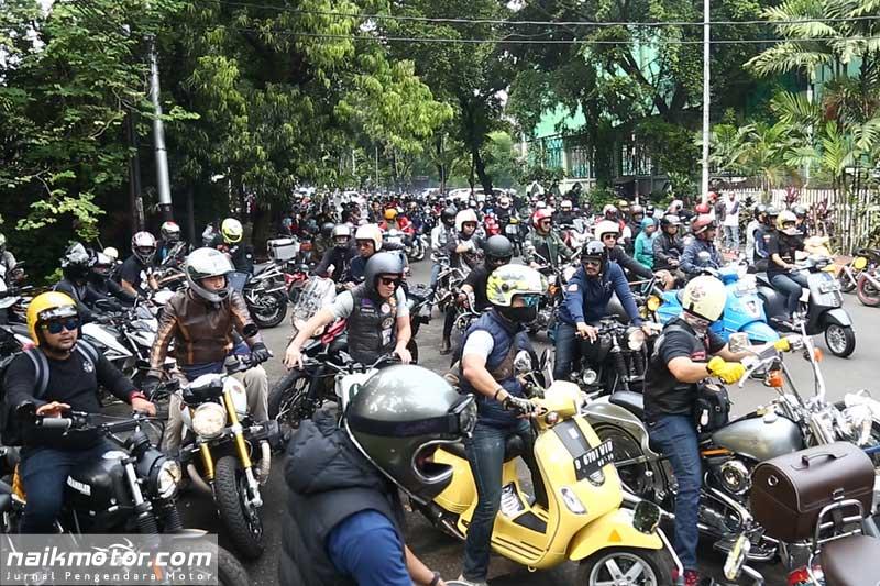 Potret Antusias Bikers dan Industri Sepeda Motor di Jejak Roda