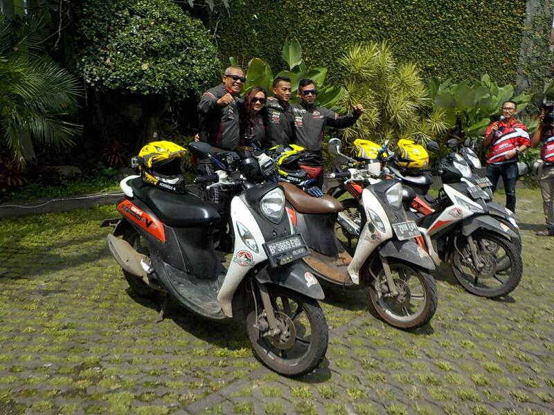 Corsa Jelajah Tangguh Tiba di Bandung