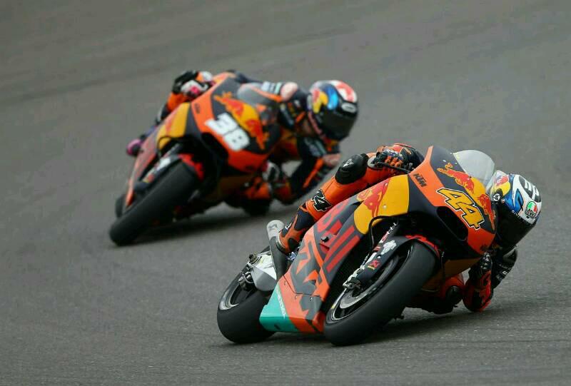 Untuk Pertama Kalinya KTM Meraih Poin dalam MotoGP