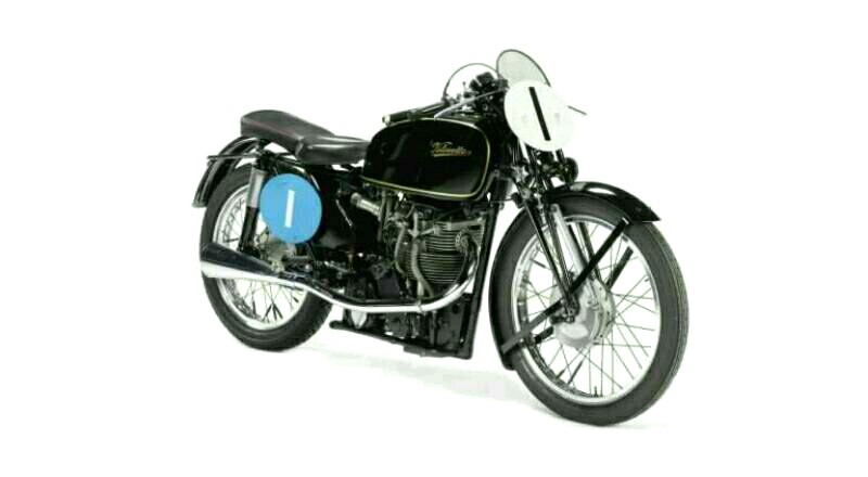 Velocette KTT 1949 Pelopor Sepeda Motor Moderen