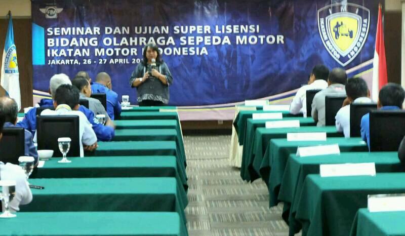 IMI Gelar Seminar dan Ujian Super License Sport untuk Sepeda Motor