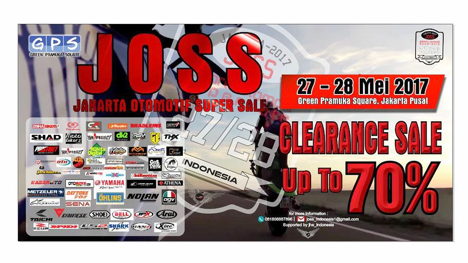 Jakarta Otomotif Super Sale Berikan Diskon untuk Pemudik