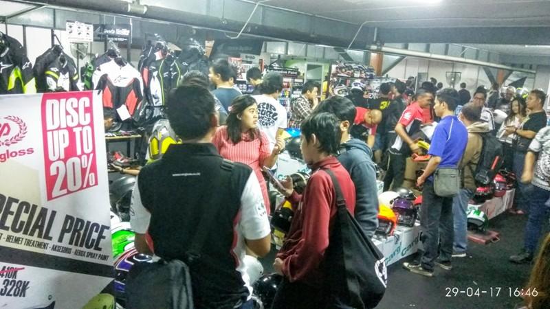 Bandung Helmet Exhibition 2017