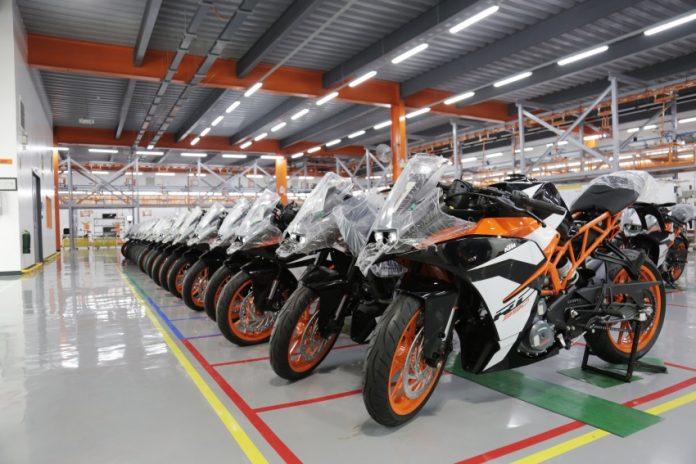 KTM Buka Pabrik Baru di Filipina