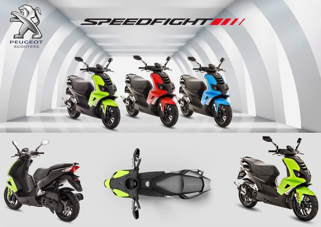 dua model baru Peugeot Scooters