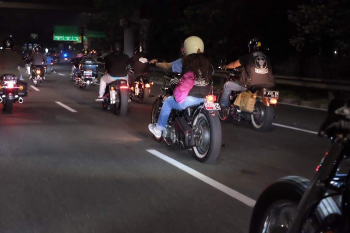 Sportster Indonesia Charity Nite Ride 2017