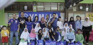 Yamaha Indonesia berbagi kasih