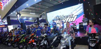 Penjualan Motor Suzuki di Jakarta Fair