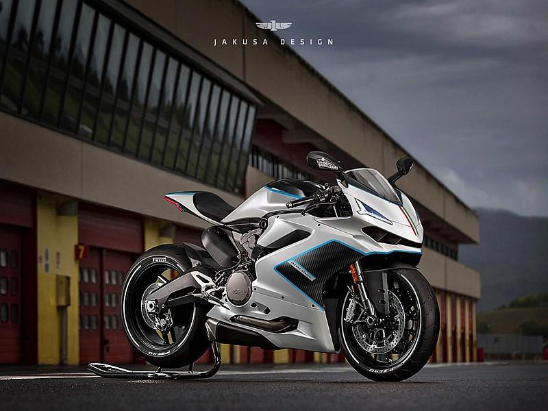 Begini Kalau Ducati Panigale Memakai Disain Lamborghini Centenario