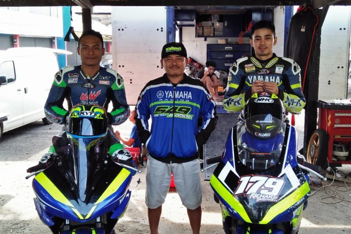 Turun di Kelas R15 Pro, M Irvansyah digandeng tim Yamaha 549 Kaboci