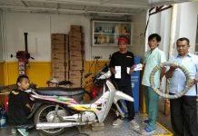 Motoquick Layanan Cepat Ganti Ban, Aki dan Oli di Alfamart