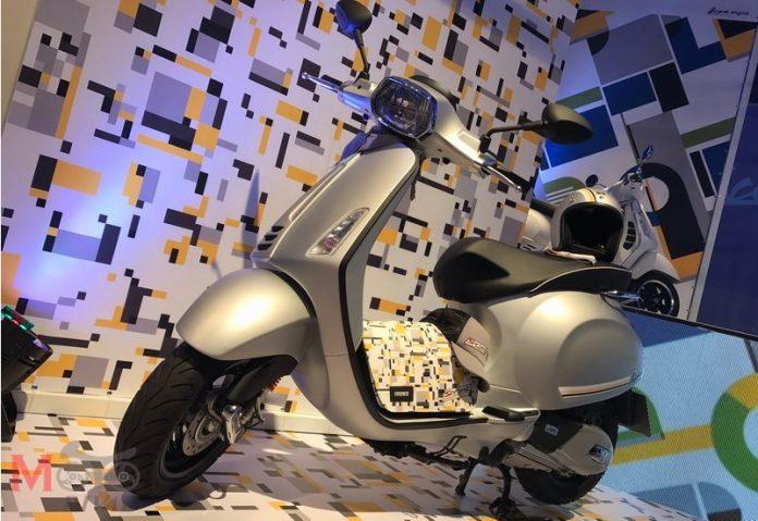 Vespa Sprint 150 iget Sport Edition di Thailand