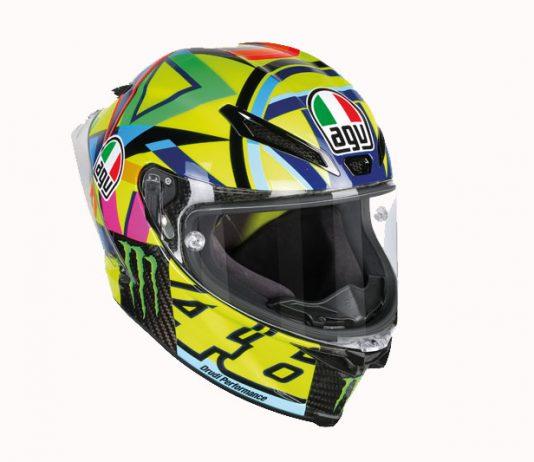 helm buat penggemar berat Valentino Rossi