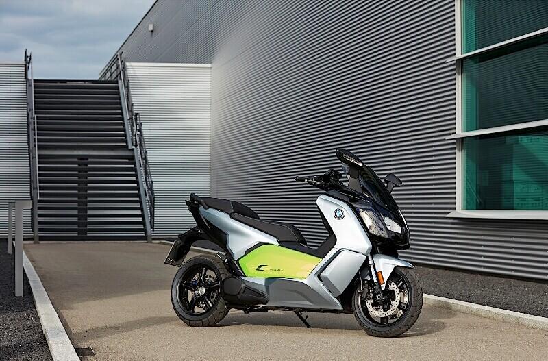 skuter listrik BMW Motorrad