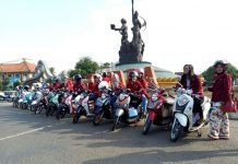 City Touring & Beauty Class Yamaha Fino Sambangi Kota R A Kartini