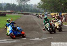 Dapscoots Borong Podium Kemenangan di Indonesia Scooter Championship 2017 Seri 2