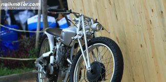 Motor Custom Suzuki Thunder 250 Broadtracker 'Captain' Insan Motor