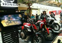 Honda big bike exhibition 2017