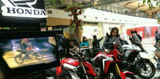 Honda big bike exhibition 2017