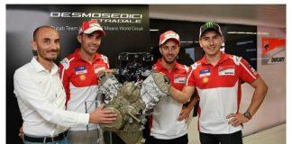 Teknis Mesin Ducati V4 Desmosedici Stradale