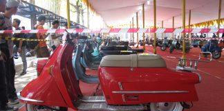 Mengintip Barang Langka di Indonesia Scooter Festival 2017