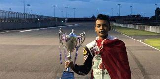 M Adenanta Kembali Naik Podium di Honda Thailand Talent Cup