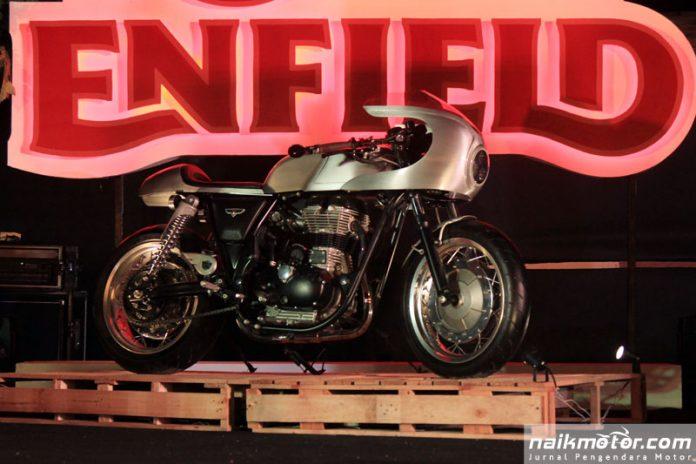 Silver Bullet, Motor Custom Cafe Racer Klasik Royal Enfield