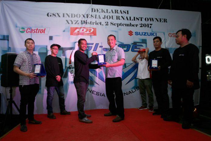 Komunitas GSX Indonesia Journalist Owner Resmi Berdiri