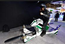 Sepeda Motor Terbang Hoversurf Milik Polisi Dubai