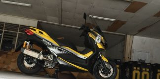 Modifikasi Yamaha Xmax, Iconic Bike Ohlins Indonesia